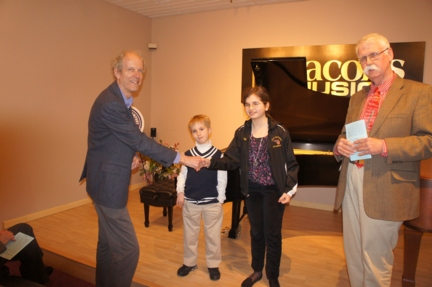 Award Teddy and Nora Hogan Princeton-NJ-piano-competition-recitals-performances-concerts