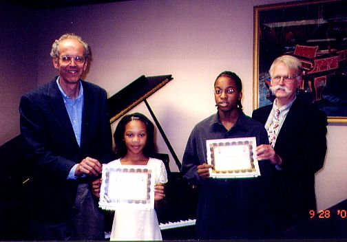 Scholarship Winners: Kaila Burgess and Brian Dismukes Steinway Princeton-NJ-piano-competition-recitals-performances-concerts